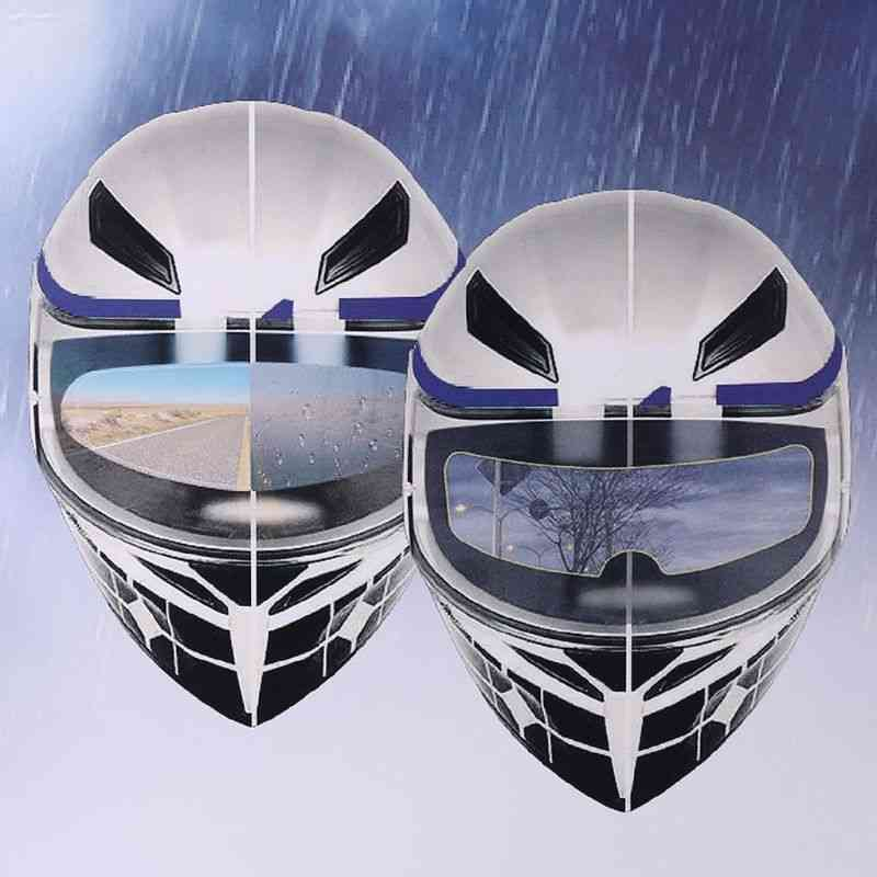 Motorcycle Helmet Rainproof Film Anti Rain Patch Screen