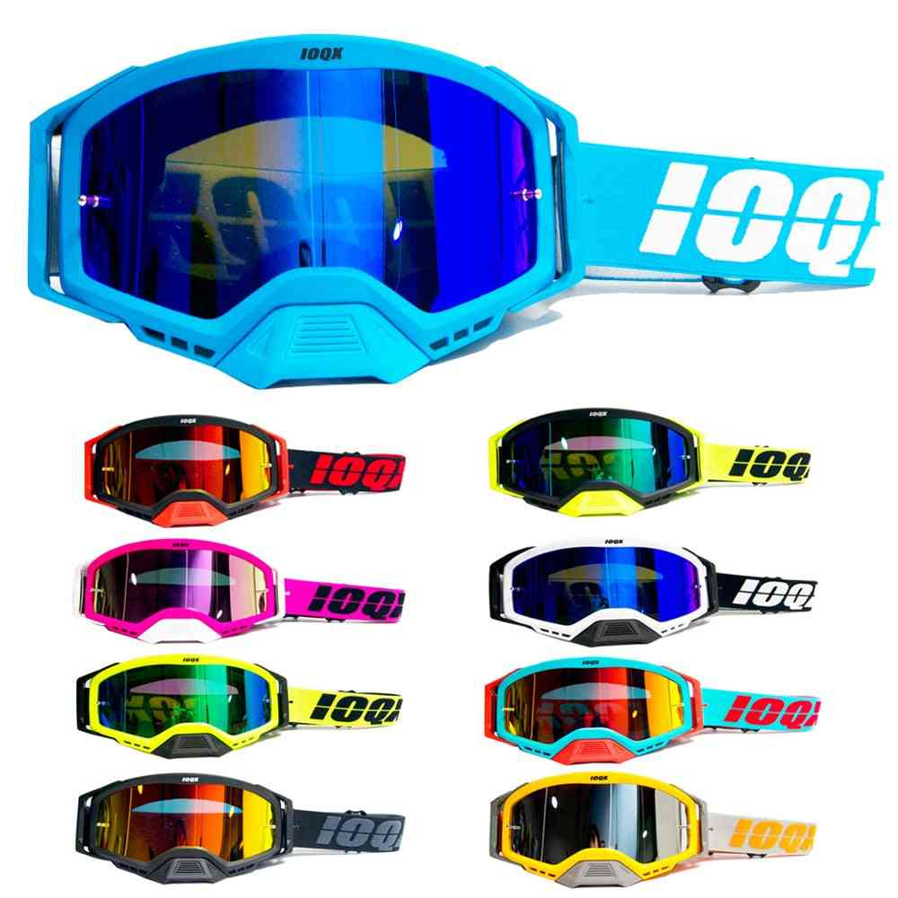 Motorcycle Sunglasses, Motocross Safety Protective Mx Night Vision Helmet Goggles
