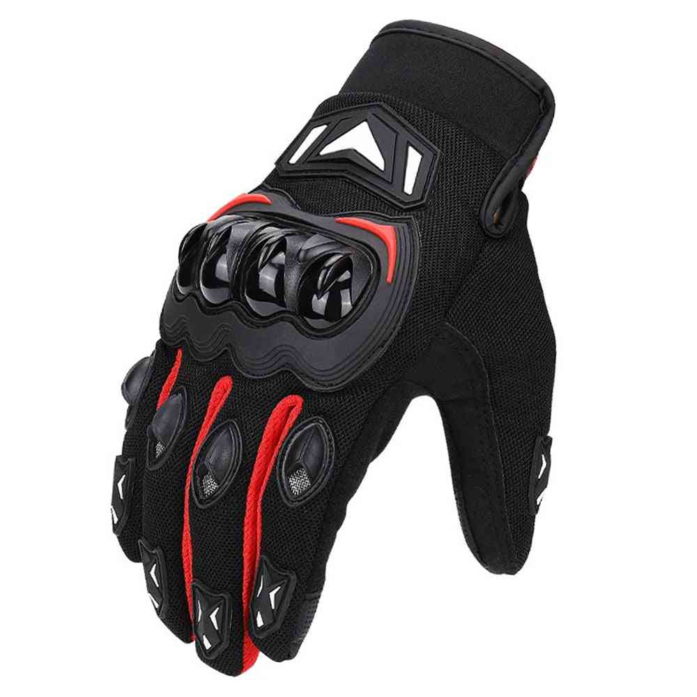 Motorcycle Gloves, Cycling Mountain Bike Touch Screen Moto Glove