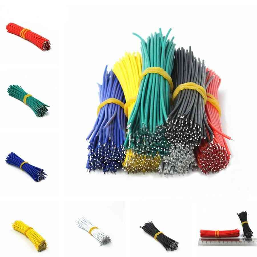 Tin Plated Breadboard Pcb Solder Cable Fly Jumper Wire