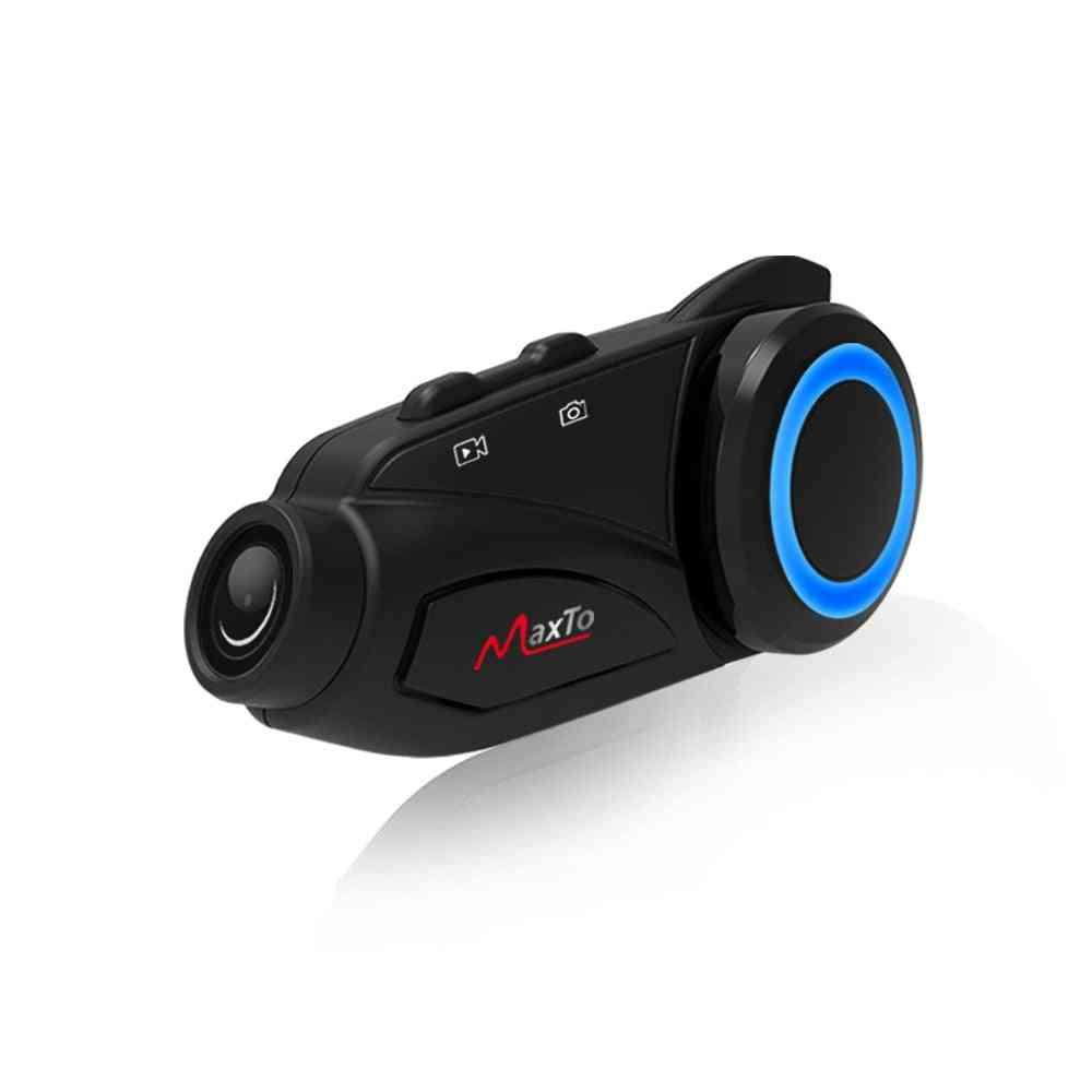 Bluetooth Wifi Moto Recorder Interphone Headset