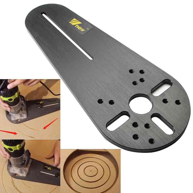 Electric Hand Trimmer Wood Router Milling Circle Trimming Machine Accessories With Logo