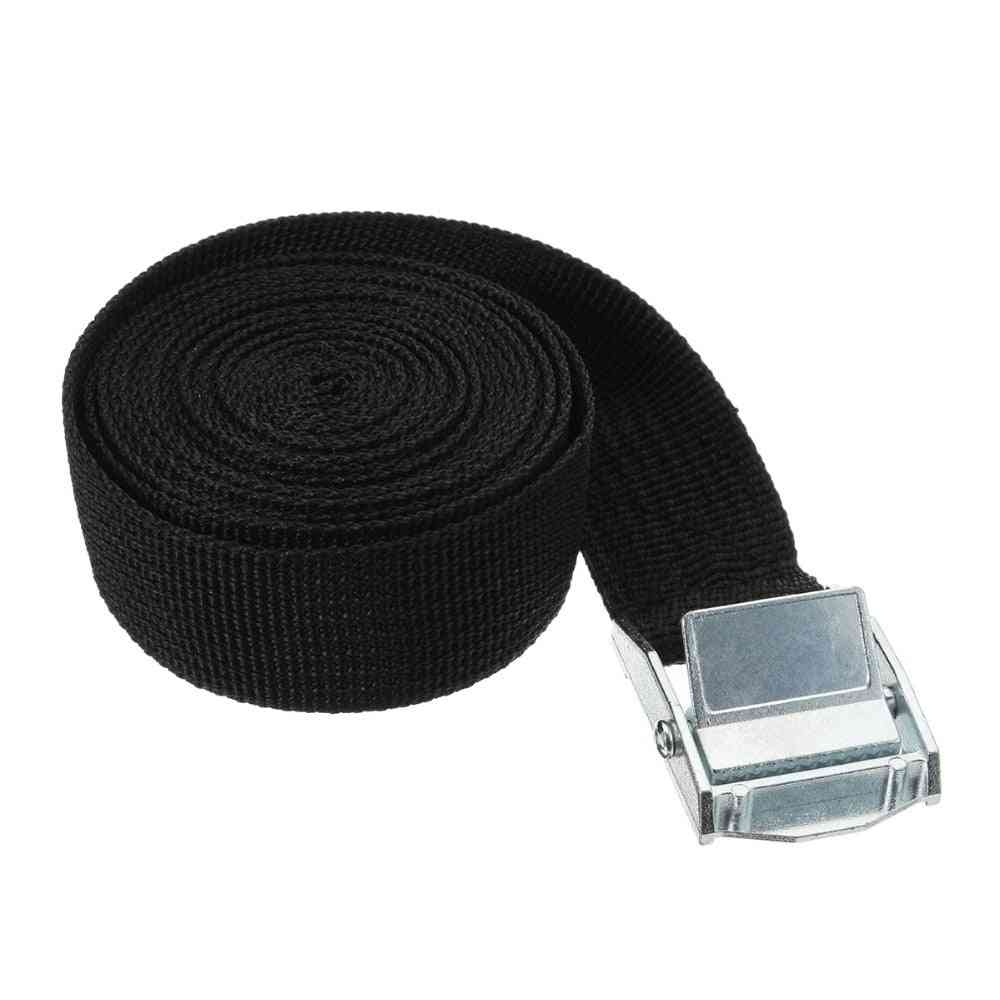 Auto Car Boat, Fixed Strap Luggage Belt With Alloy Buckle