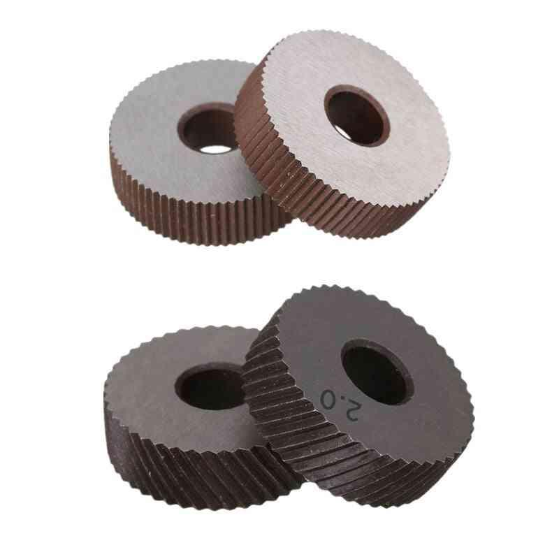 2mm Anti Slip Diagonal Coarse Knurl Wheel For Metal Lathe