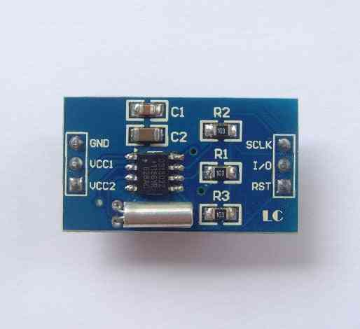 Rtc Ds1302 Real Time Clock Module For Avr Arm Pic Smd  Mar22