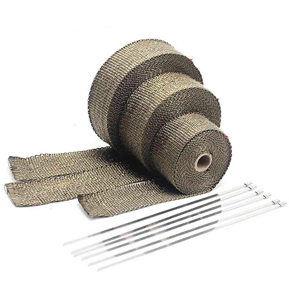 Motorcycle Exhaust Thermal Tape