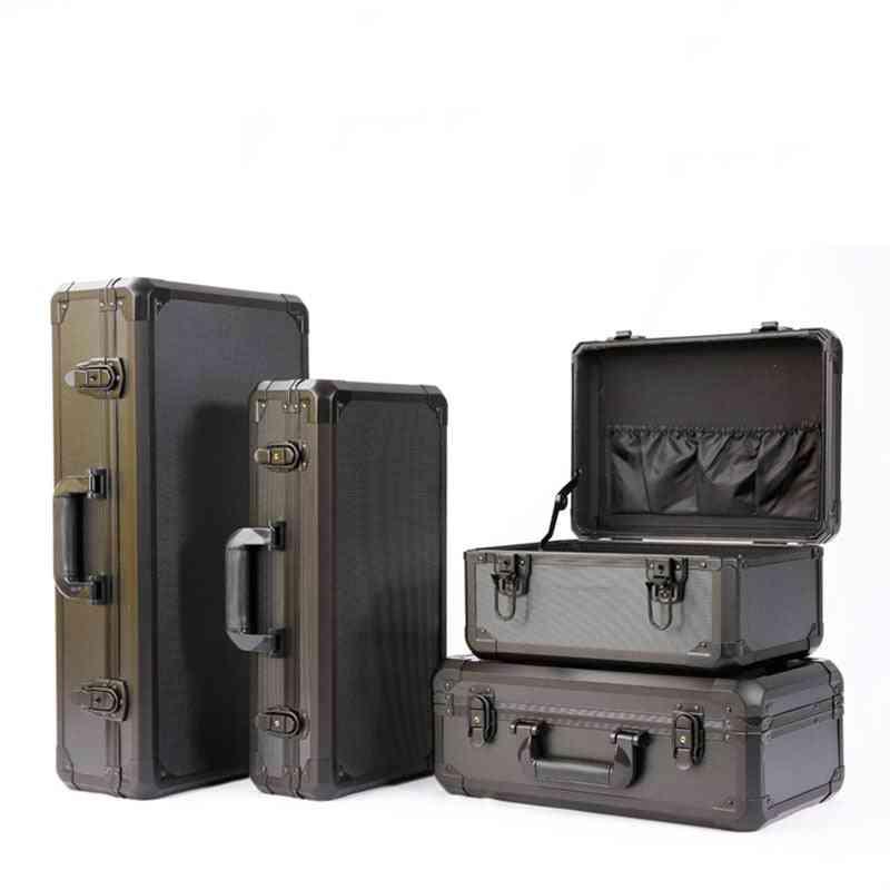 Aluminum Alloy Impact Resistance Safety Box, Instrument Case