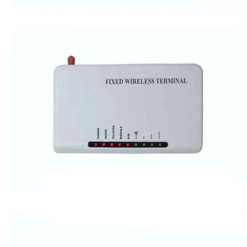 Wireless Fixed Gsm Terminal 2-ports Connect With Sim Card Backup Battery Support