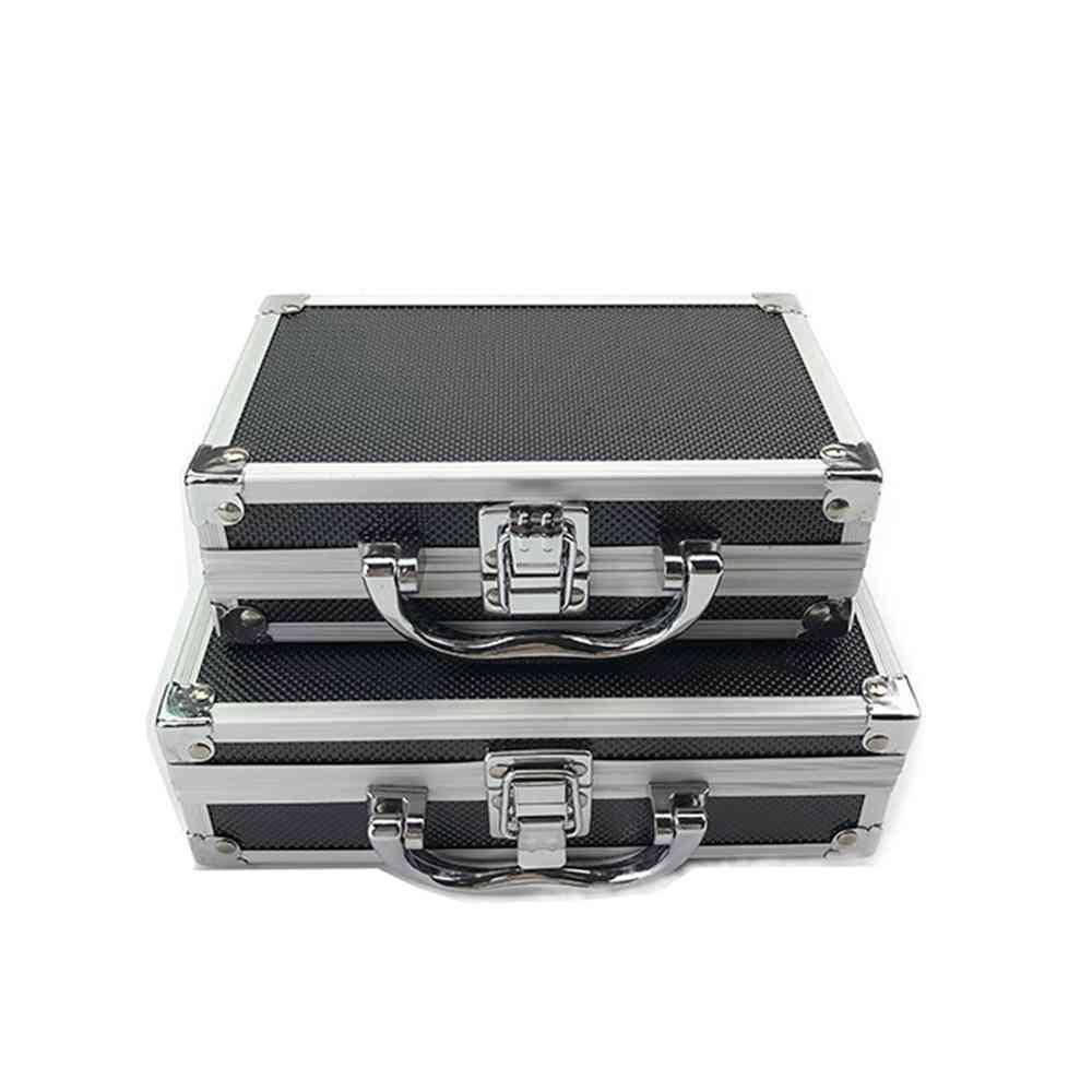 Maintenance Equipment Safety Storage Suitcase, Portable Organizer Aluminum Alloy + Abs Toolbox