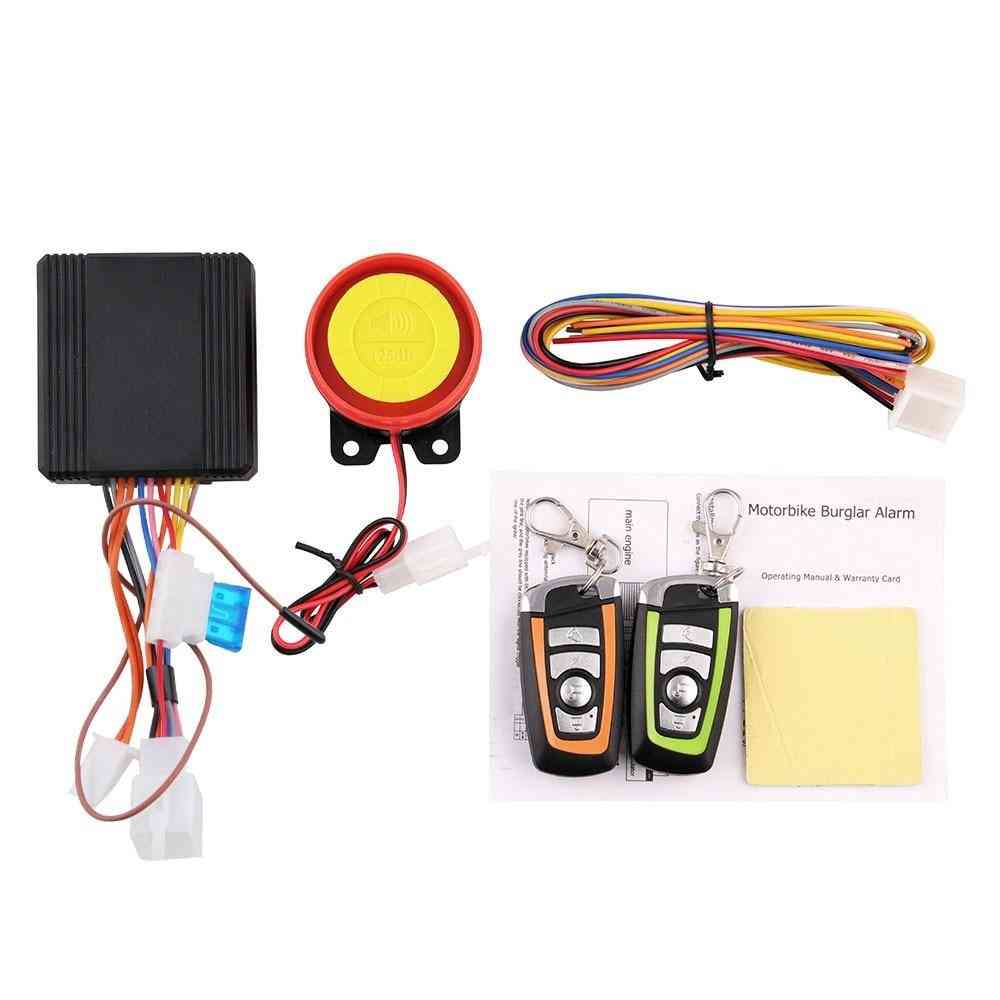 Universal Two Way Motorcycle / Scooter Anti-theft Security System