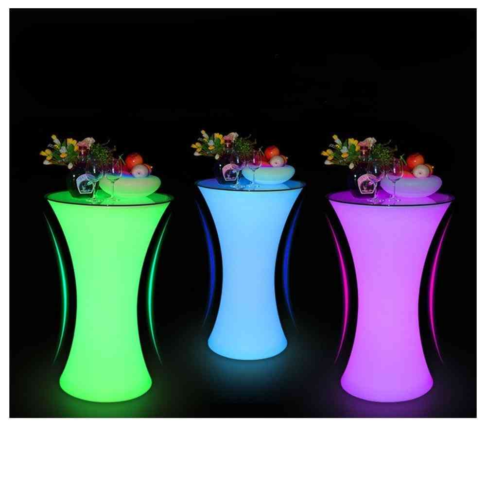 Rechargeable Lighted Up Bar Table