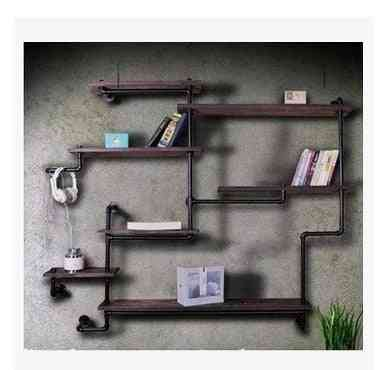 Solid Wood Partition Shelf