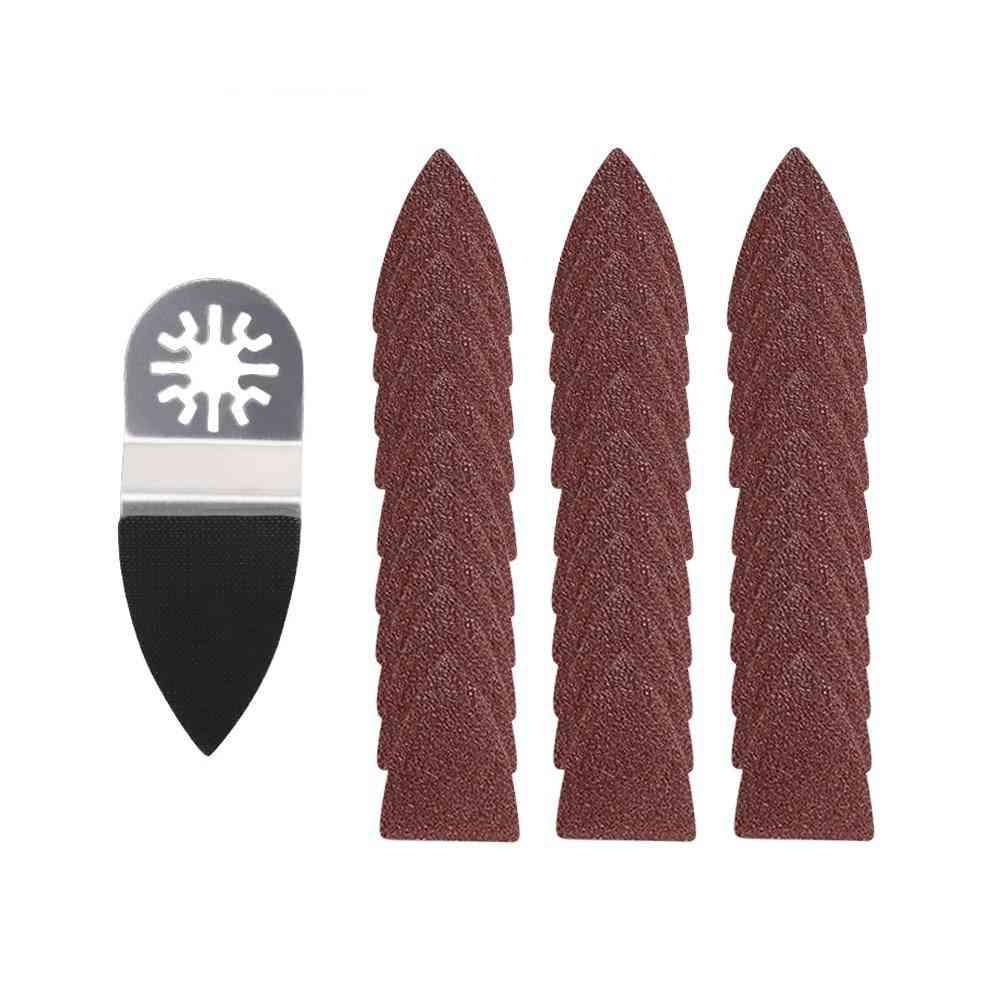 Oscillating Sandpaper, Finger Triangle, Sanding Pad For Fein Dremel, Power Tool