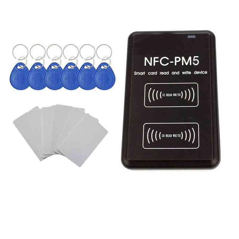 Pm5 Ic/id- Duplicator Rfid Reader, Writer & Decoding Function, Card Copier