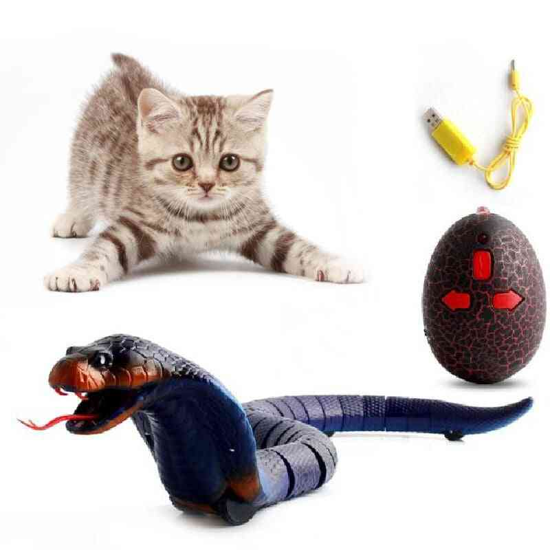 Cats Infrared- Remote Control Snake, Trick Mischief Toy