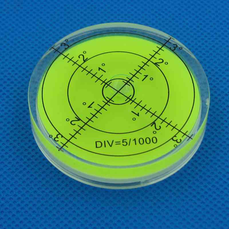 Bubble Degree Marked Surface Leveling For Camera Tripod Furniture Measuring Instruments Layout Tools