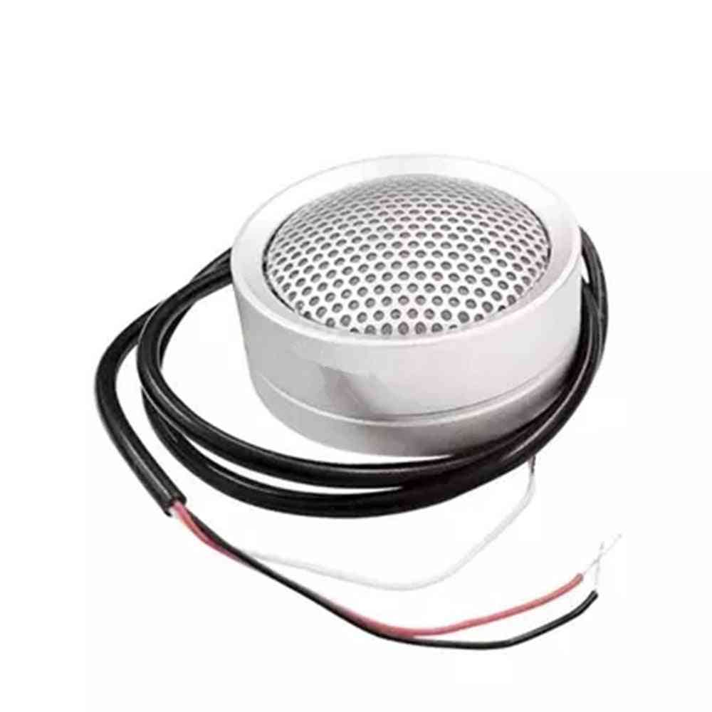 Hi-fidelity Pickup Microphone For Audio And Alarm Camera