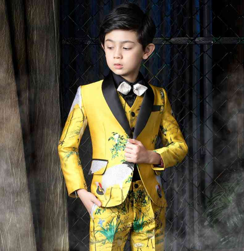 Luxury Terno Infantil Formal Suit
