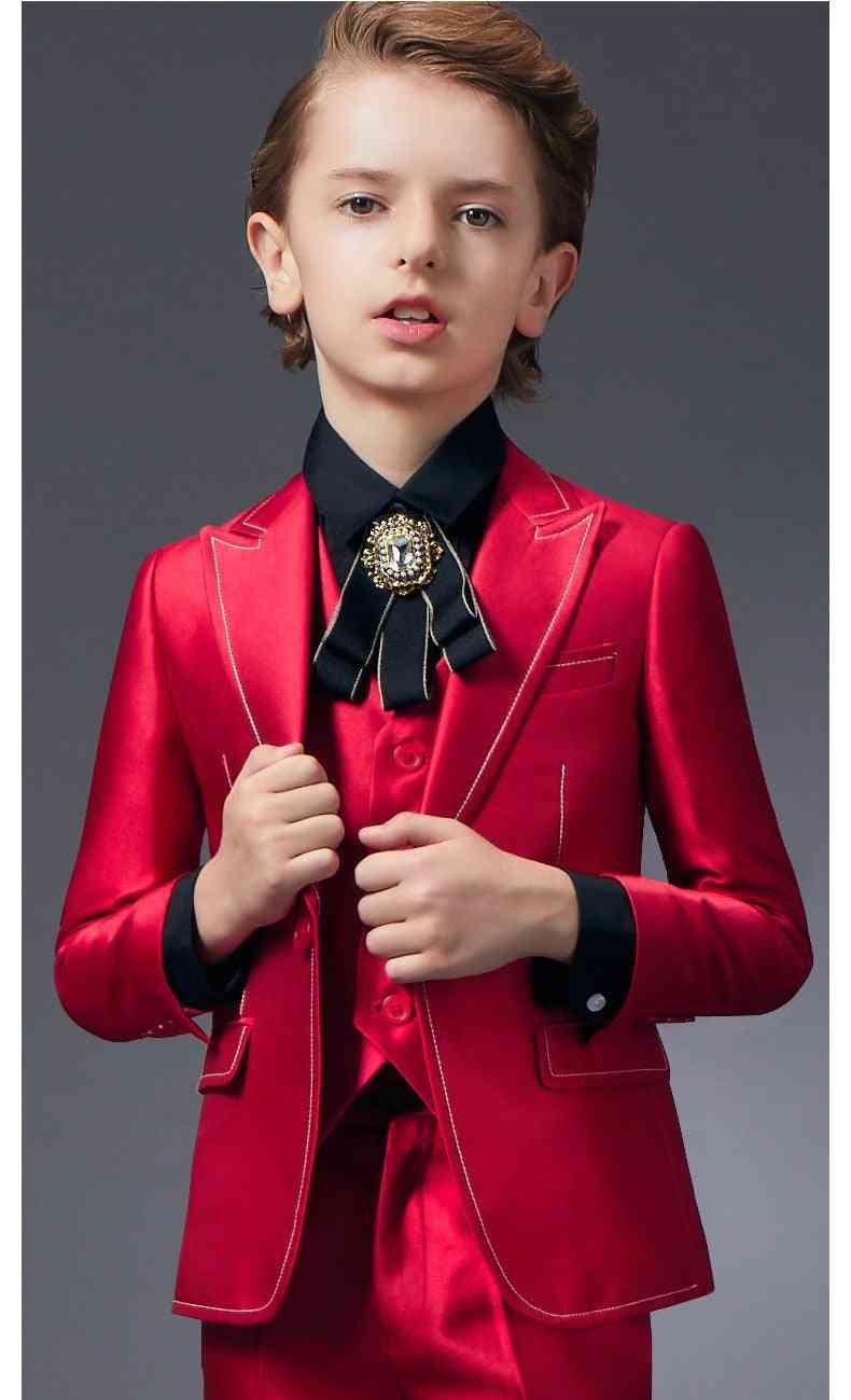 Children's Formal 5pcs Suit Sets