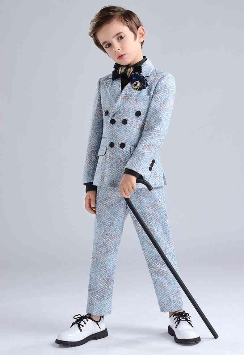 Formal Vest, Blazer & Pants Suit