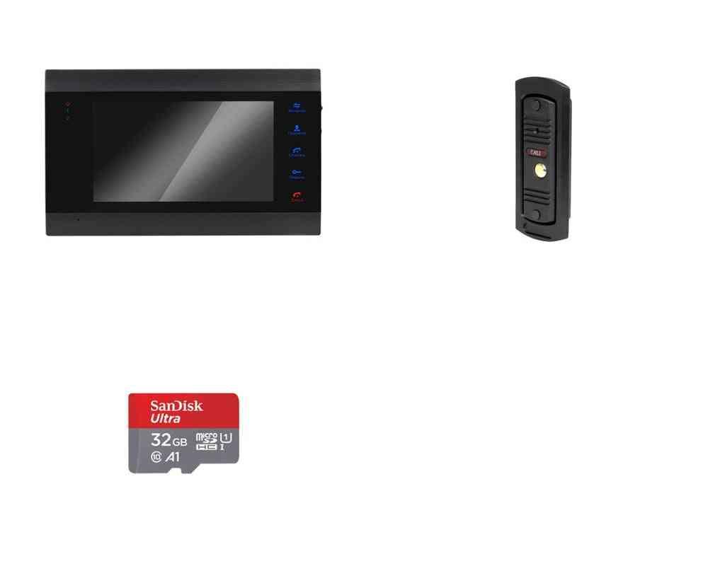 Video Door Phone Visual Intercom Doorbell