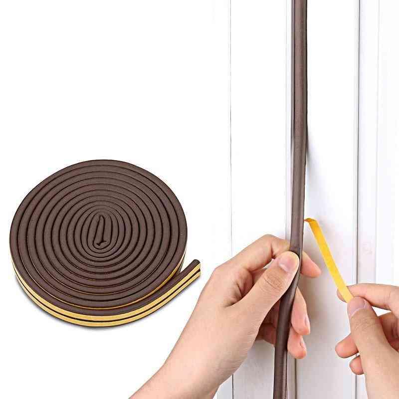 Self-adhesive Door And Window Sealing Strip, Glassanti-collision Rubber Strips