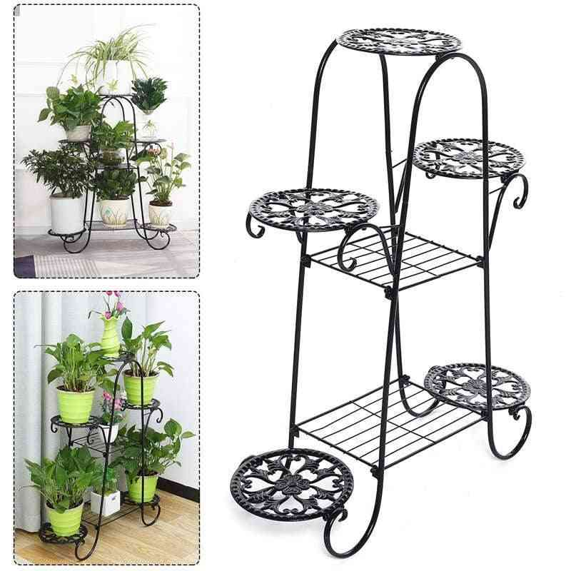 7-layers Flower, Stand Rack Indoor Multi-story, Pot Shelves