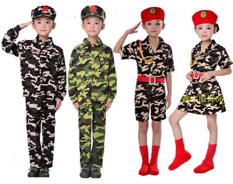 Camouflage Dance, Military Uniforms Costumes