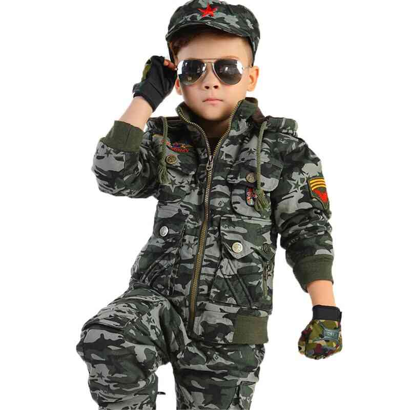 Camouflage Dance & Military Costumes Uniforms