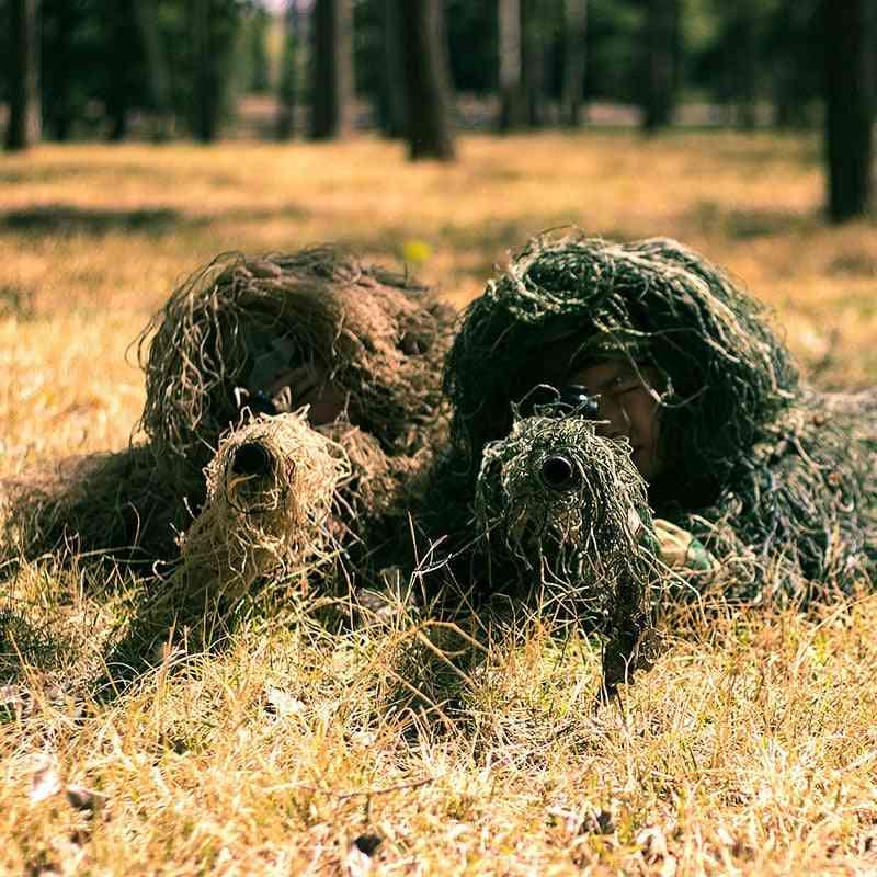 3d Tactical Desert Snow, Camouflage Uniform, Hunting Ghillie Suit