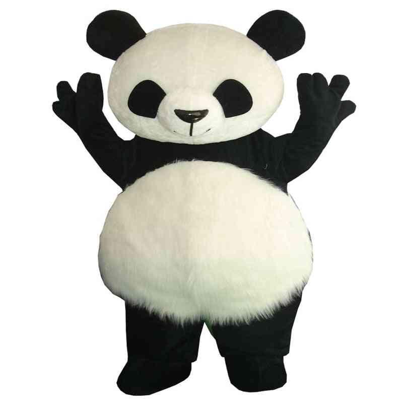 Classic Panda, Mascot Costume, Giant Stylish Fun