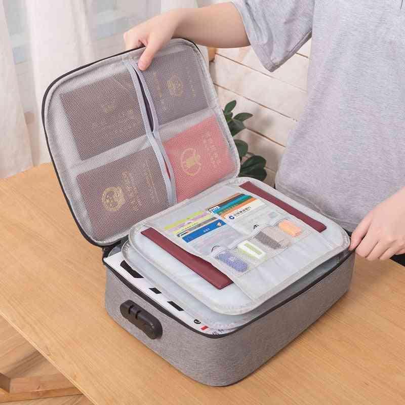 Big Capacity Document Holder Bag, Organizer Insert Handbag