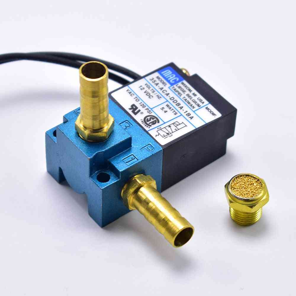 3-port Electronic Boost, Control Solenoid Valve With Brass Silencer