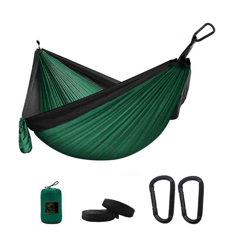 Portable Parachute Survival, Outdoor Sleeping, Double Hanging, Bed Hammock