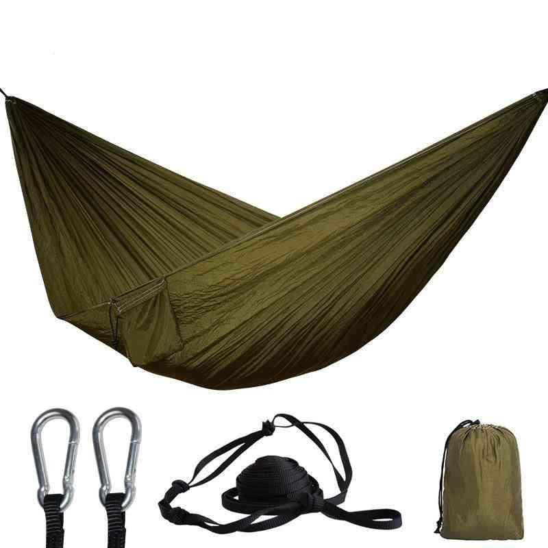 Portable Parachute Hammock  For Camping, Survival Garden, Flyknit Hunting