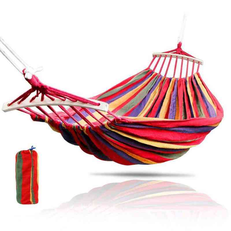 Portable- Hanging Swing Chair, Thick Canvas, Bed Hammocks