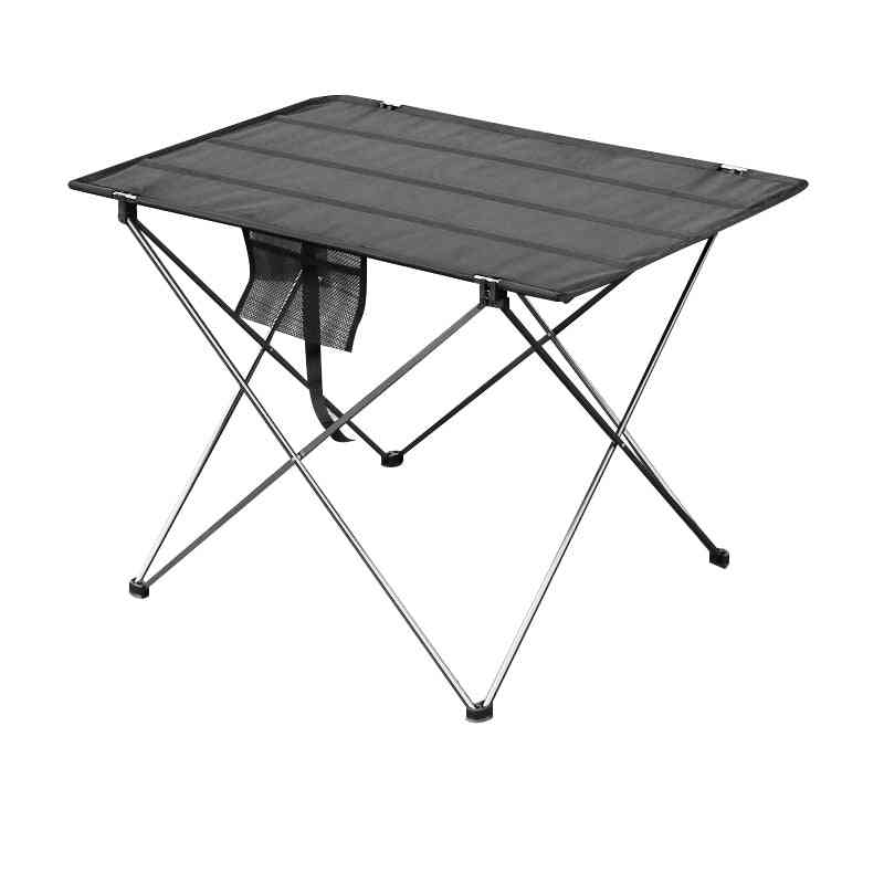 Portable Foldable Table, Camping Outdoor Furniture Computer Bed Tables