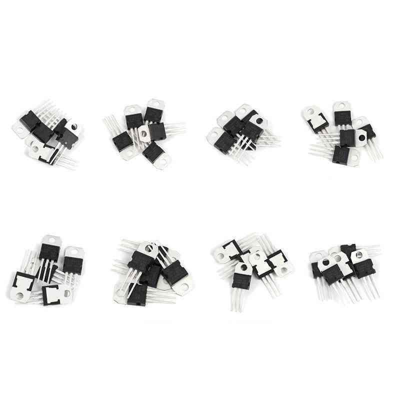 Voltage Regulators Ic To-220, Transistor Assortment Kit