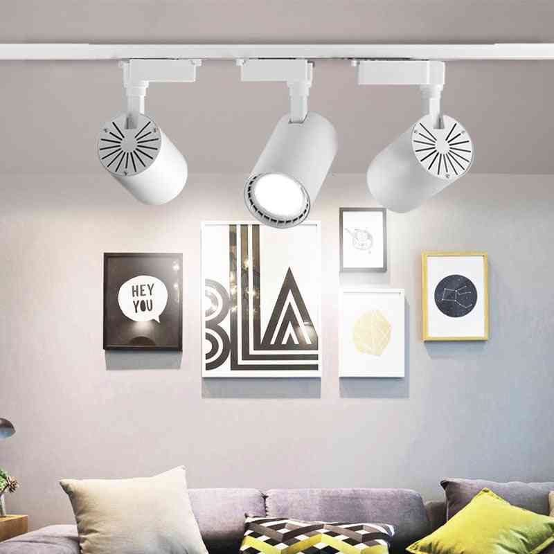 Led Track Lamps Spotlights For Living Room, Clothes, Shop