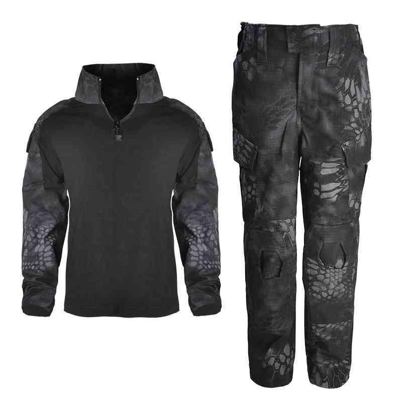 Children's Camouflage Training Clothe Suit
