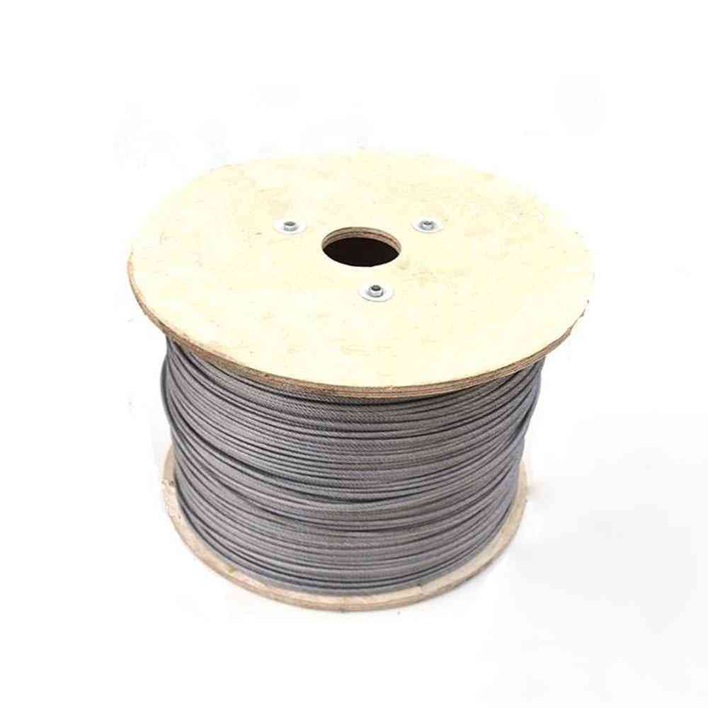 304 Stainless Steel Pvc Coated Flexible Wire Rope