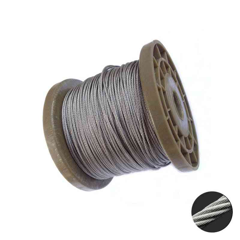 304 Stainless Steel Wire Rope Lifting Cable