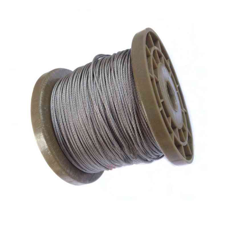Stainless Steel Lifting Cable Clothesline Wire Bare Rope