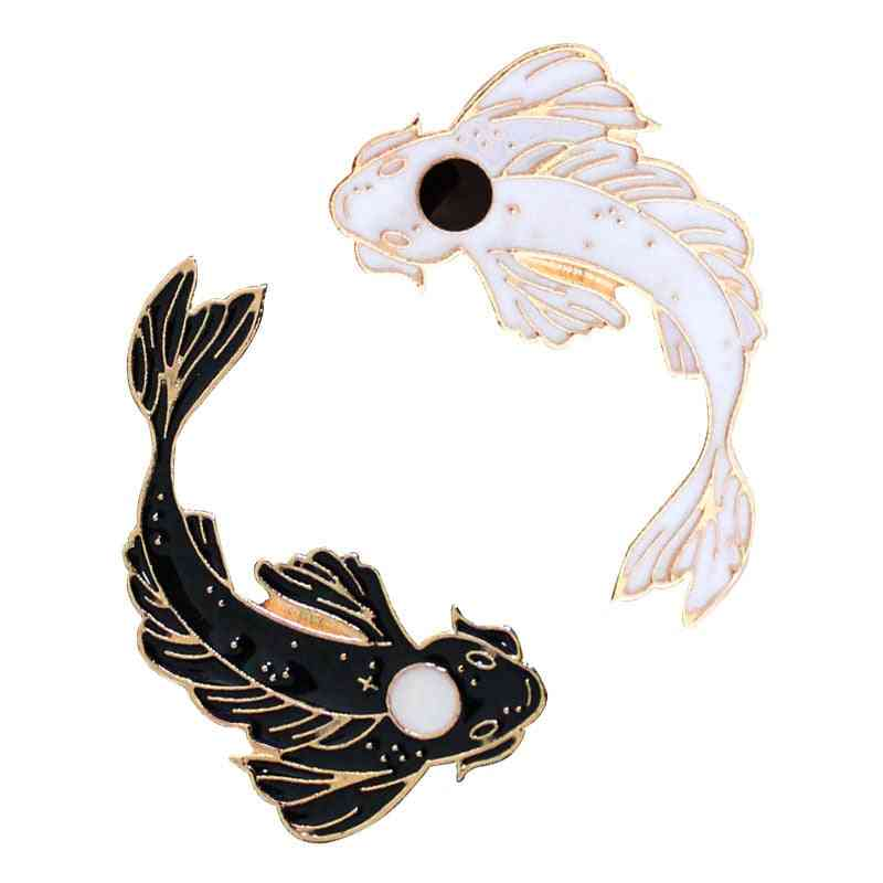 Animal Pins & Brooches Lovely Goldfish