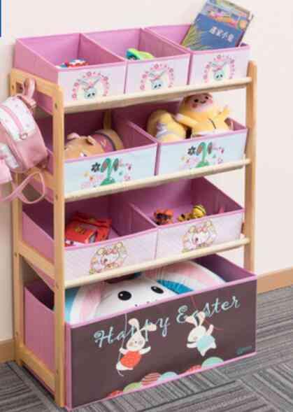 Children's Cabinets, Modern Simple Multi-storey Toy Rack