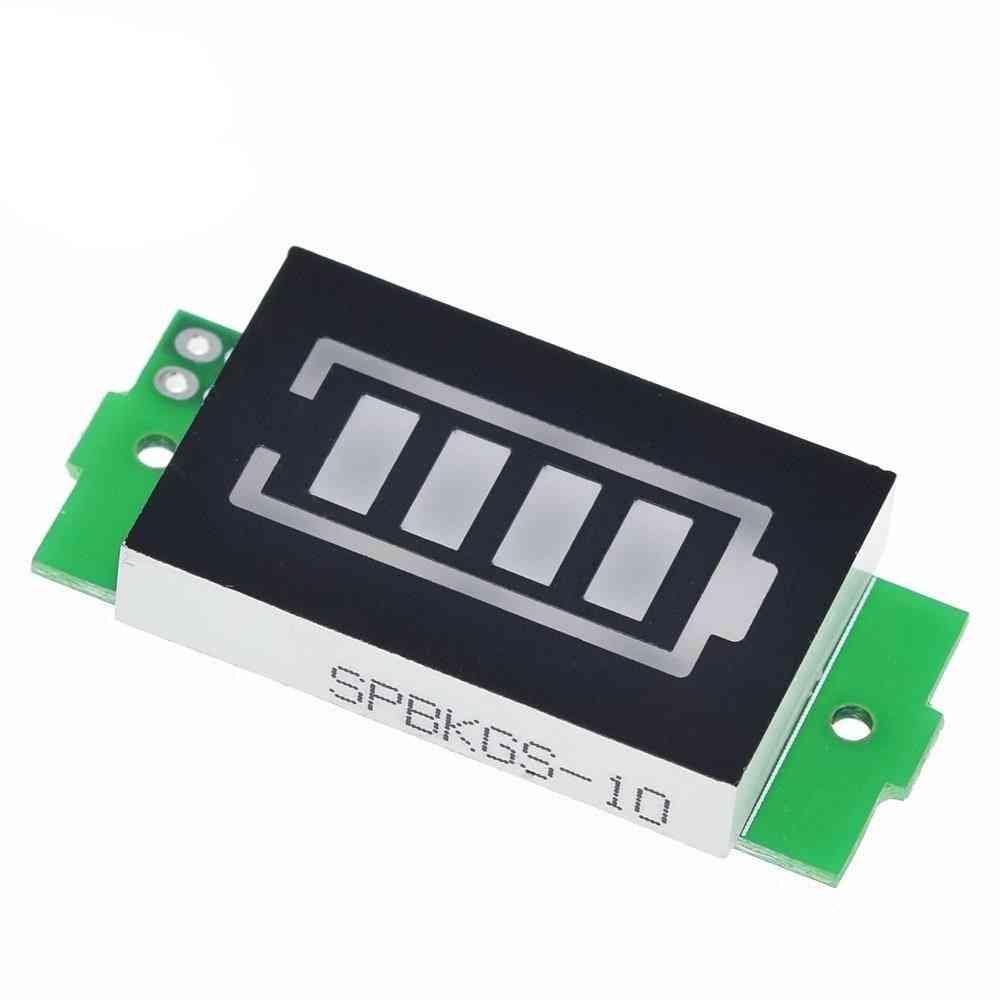 Lithium Battery Capacity Indicator Module, Display Electric Vehicle Power Tester Li-ion