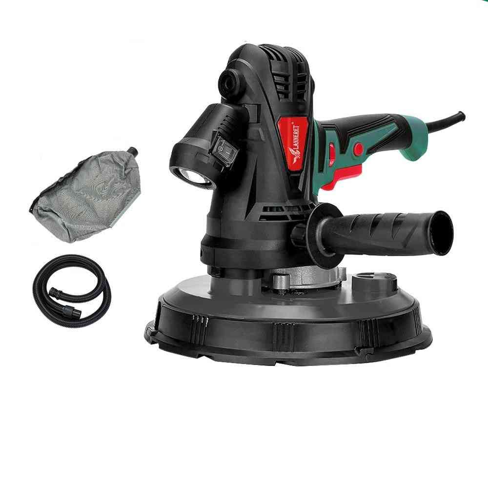Drywall Sander, Speed Handheld, Wall Polisher Machine With Led Light