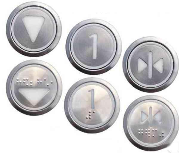 Elevator Accessories Stainless Steel Digital Push Button