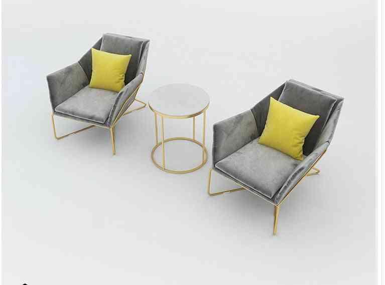 Nordic Shop Sofa, Waiting Chair