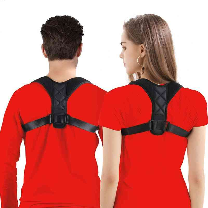 Adjustable Back Posture, Corrector Safety Harness, Straight Shoulder Belts